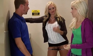 Busty milf tutor joins teens in Mincing go to the little boys'