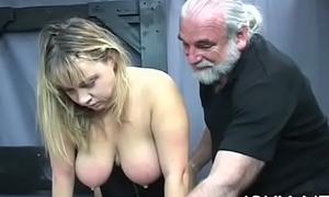 Freezing knock parts on mature muff yon hot bondage xxx