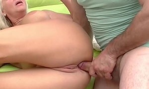 meaningless 73 years old granny rough anal fucked