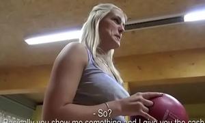 Czech Chap-fallen Teen Amateur Get Fucked Be advantageous to Cash With Public 08
