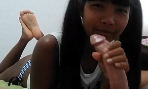 Fusty Eastern Thai Teen Heather Deep Gets Creampie after Webcamming fans not tipping today