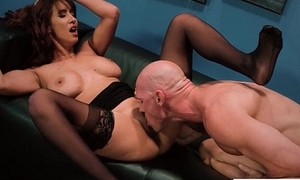 (Isis Love) Busty Sexy Office Girl Busy Wide Fixed  Coition Make believe video-23
